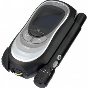 Produkfoto des Accu-Chek Mobile der 1. Generation