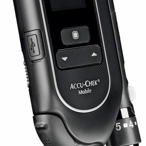 Produkfoto des Accu-Chek Mobile der 2. Generation
